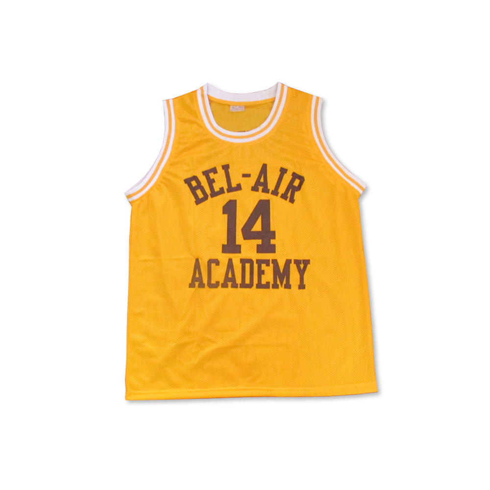 6bdd7bbf1cf The Fresh Prince of Bel-Air Will Smith Bel-Air Academy Home Basketball  Jersey AMBASSADORS SERIES